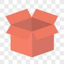红色的箱子图片