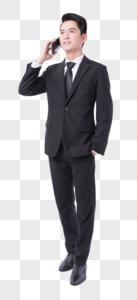正在打电话打商务男士图片