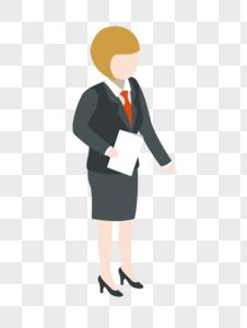 商务女人图片