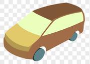 棕色的汽车图片