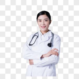 年轻女医生亲和形象展示图片图片