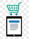 手机 购物车图标图片