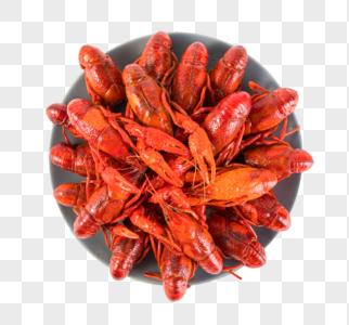 小龙虾元素图片
