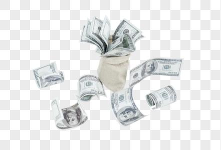 一袋子钞票图片图片