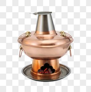 铜火锅图片