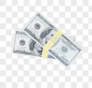若干叠美元图片图片