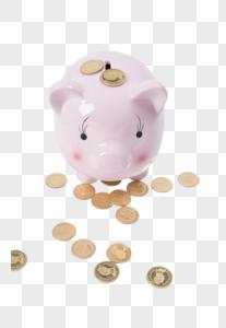 储存罐和钱图片图片