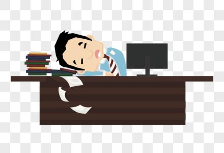 睡觉的人图片