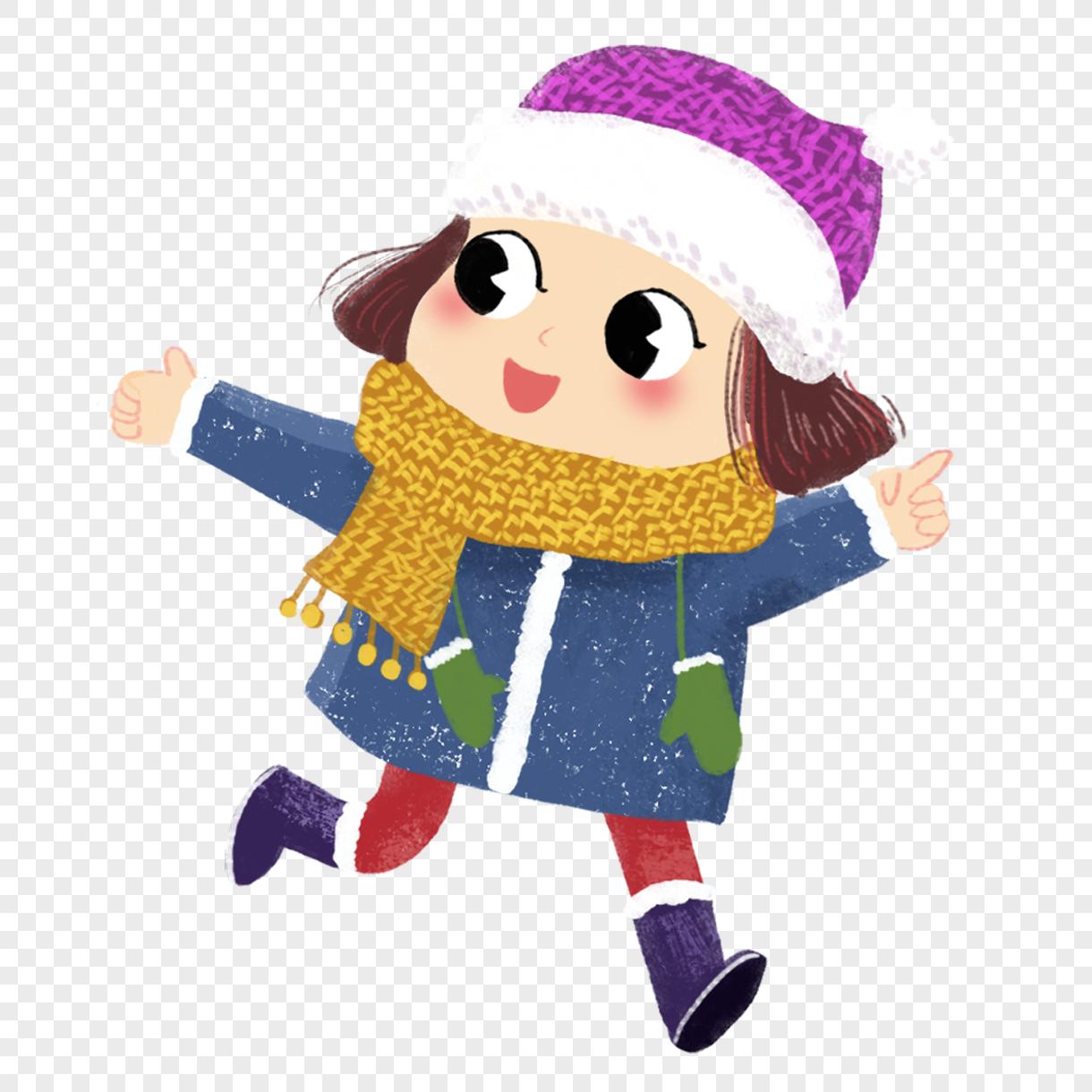 微信朋友圈 qq空间 新浪微博  花瓣 举报 标签: 元素冬天可爱奔跑女孩