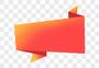 红色标题框元素图片