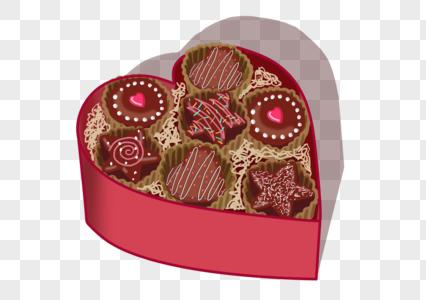 情人节巧克力图片