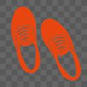 红色鞋子图片