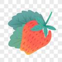 草莓水果小暑图片