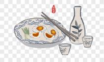 端午节咸鸭蛋图片