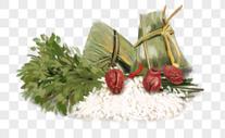端午节粽子插画图片