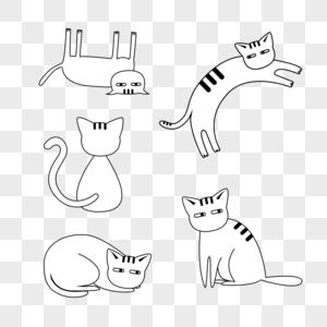 小猫元素图片