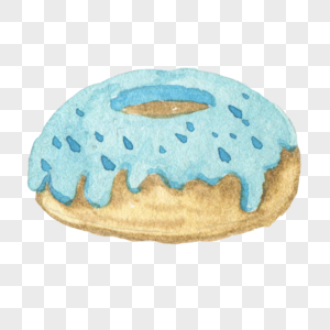 美味的甜甜圈图片