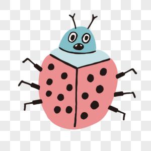 可爱昆虫图片