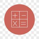 矢量计算符号图标图片