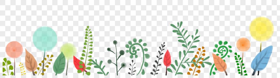 草丛植物装饰图片