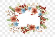 花环边框设计图片