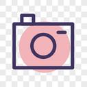 相机线性图标图片