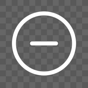 运算符号线性图标图片
