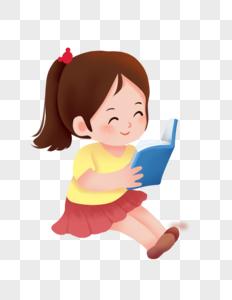 儿童阅读图片