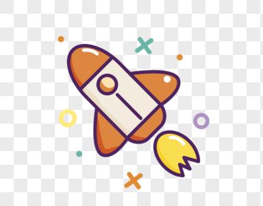 发射的火箭图片