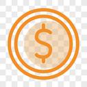 金币线性图标图片