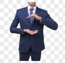 商务人士手势动作图片