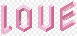 love字体设计图片