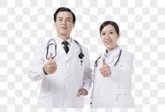 医生翘拇指动作底图图片