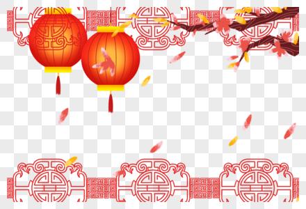中国风背景边框图片