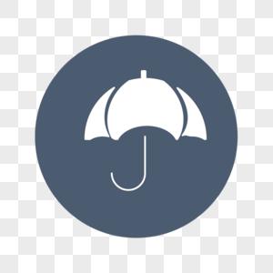 雨伞标志图片