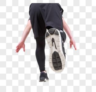 跑步的背影图片