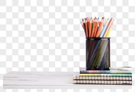 创意学习办公桌面摆拍图片