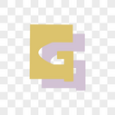卡通英文G字体设计图片