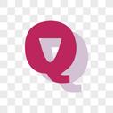 卡通英文Q字体设计图片