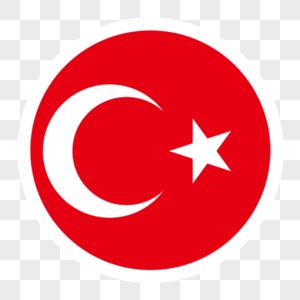 土耳其国旗装饰图片