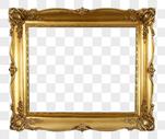 金色照片框图片