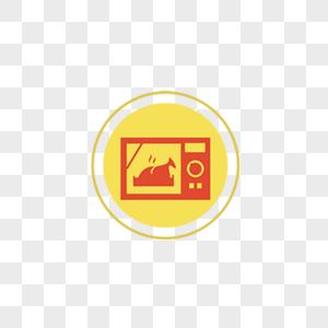 微波炉用品图标图片