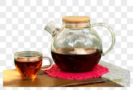一壶红茶图片