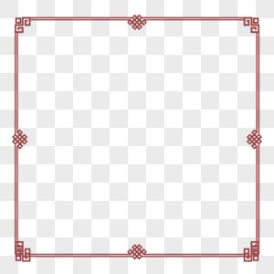 手绘中国风边框图片