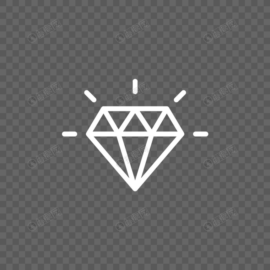 翡翠珠宝网_钻石图标元素素材下载-正版素材400323531-摄图网