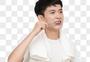 睡前刷牙早起刷牙的的年轻男孩图片