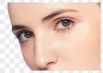 外国美女眼妆展示图片