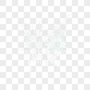 水花效果素材图片