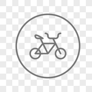原创自行车图标图片