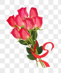 七夕玫瑰花图片